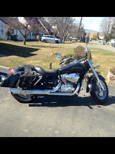 2006 Honda Shadow Motorcycle