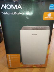 NOMA Dehumidificateur/Dehumidifier Brand New