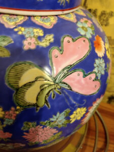antique  famille rose GINGER JAR  for sale
