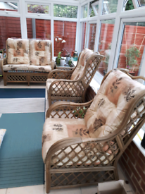 Conservatory furniture , bamboo .