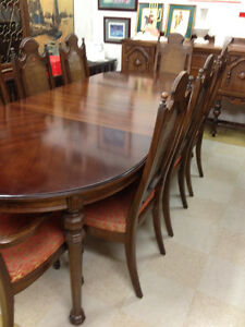 Rare Gibbard Walnut Dining Suite SOLD Kingston Kingston Area image 1