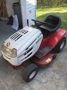 White lawn tractor 13 hp  motor seized.