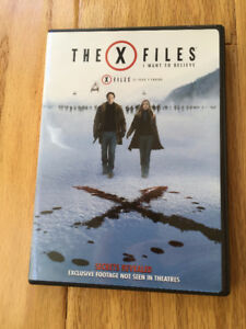 "X-Files ""I Want to Believe"" (2008) Extended Version DVD - $4"