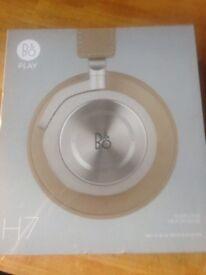 Reduced price Bang & Olufsen H7 brand new wireless Bluetooth headphones
