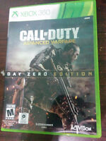 Selling Advanced Warfare xbox 360