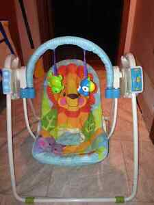 Precious Planet infant motorized swing