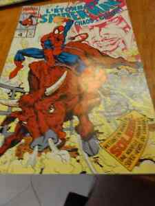 2 comic l'etonnant spiderman chaos a calgary