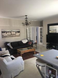 ROSEDALE/Summerhill 1200 sq.ft.  3rd floor house avail. Aug 1