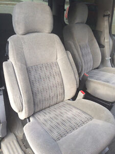 """van rear seats (Chevy Venture) -- 2 """"captain"""" chairs and 1 bench Strathcona County Edmonton Area image 1"""