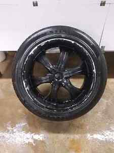 """22"""" GM/CHEVY rims and tires Kitchener / Waterloo Kitchener Area image 3"""