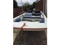 Dell Quay Dory 13, Snipe Trailer, Tender, dinghy, boat.