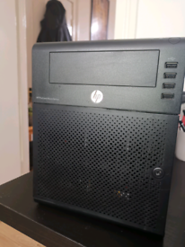 HP ProLiant G7 MicroServer 4 bays raid