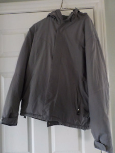 Men's Gray Winter Coat