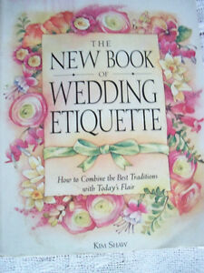 """The New Book of Wedding Etiquette"""