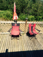 Canada Chairs and Umbrellas