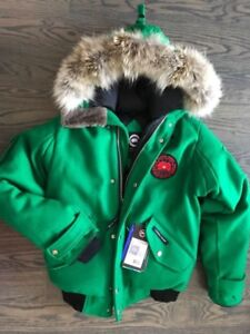 CANADA GOOSE -BRAND NEW - Wool Snorkel Bomber Limited edition