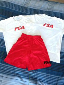 FSA (Farias Soccer Academy) two jerseys with shorts