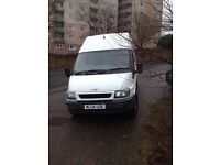 Ford transit t350 lwb high roof