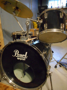 Pear Export Drum kit with Gretsch Snare