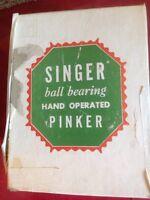 vintage singer hand pinker