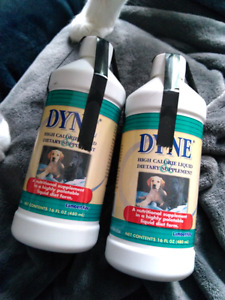 DYNE high calorie liquid supplement for dogs and livestock