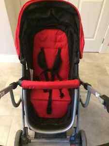 Red urbini stroller OBO London Ontario image 1