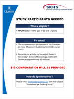 Paid research study: children and youth!
