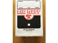 Big Muff distortion pedal - needs gone asap