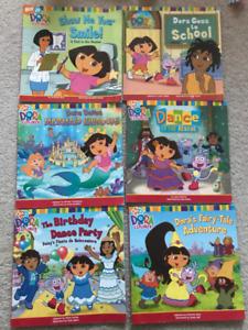 Dora The Explorer Reading Books - great learning books!