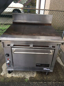 Stainless Steel Commercial Burner, Grill and Oven all in one
