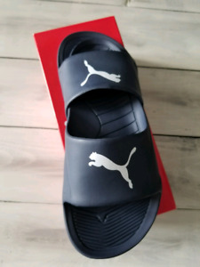 Puma slip on flip flop/ slides