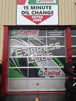 Canadian Tire Quick Lube Advisor and Technician