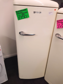 Used, GORENJE WHITE LARDER FRIDGE +ICE BOX for sale