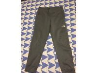 Grey north face trousers for sale