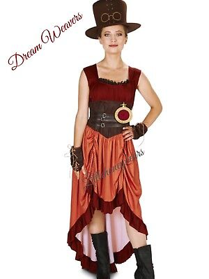 Deluxe Halloween Costumes For Women (Steampunk Matron Womens Adult Deluxe Halloween Costume-Size)