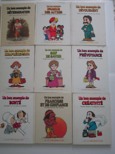 Collection 20 Livres Vintage GROLIER de UN BON EXEMPLE