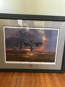 """First Light"" Ducks Unlimited Print by Phillip Crowe"