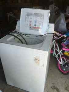 Maytag dryer and Moffat washer