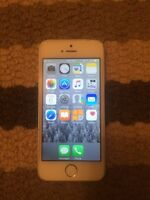 iPhone 5S 16GB White/Silver **$350**