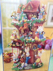 Easter Treehouse Ornament