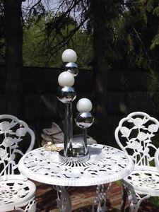 Belle Lampe de Table Chrome Retro Mid Century