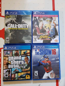 PS4 Games for sale! Great Price!