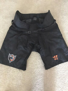 PRO STOCK NHL WARRIOR HOCKEY PANT SHELL - JOE PAVELSKI - USED
