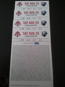 UNDER FACE VALUE: TFC vs MONTREAL and L.A. FC , LOWER & UPPER !!