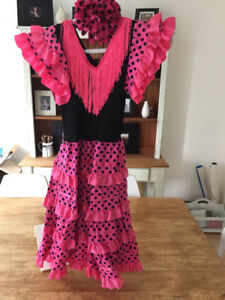 Girls Flamenco Dancer Halloween costume