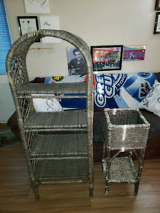 URGENT PICK UP MOVING SALE. MATCHING DECORATIVE WICKER OUTDOOR S