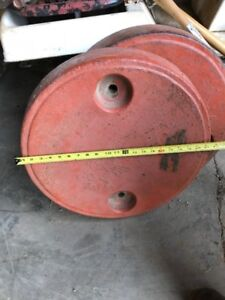 Tractor Rear Wheel Weights-farming--pulling