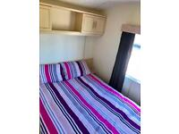 8 berth Atlas Lakeland Static caravan on the gorgeous Ayrshire coast