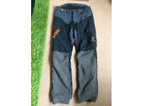Stihl chainsaw trousers also have Stihl chainsaw trimmer blower etc