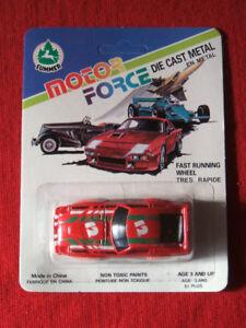 Motor-force die-cast-metal-18 cars --New---